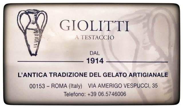 גלידה Giolitti