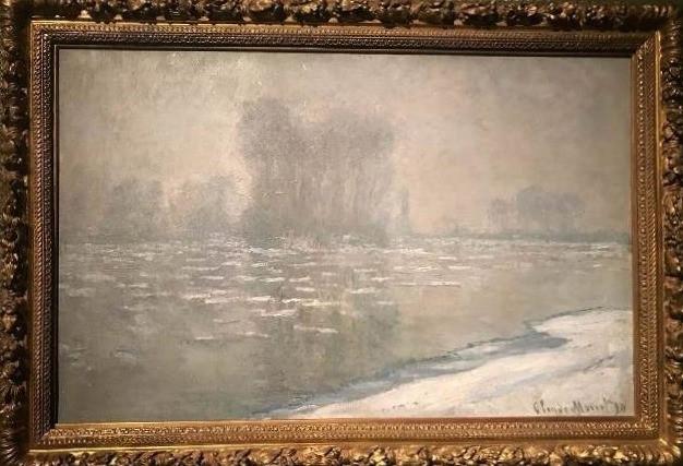 ערפילי בוקר, קלוד מונה 1894