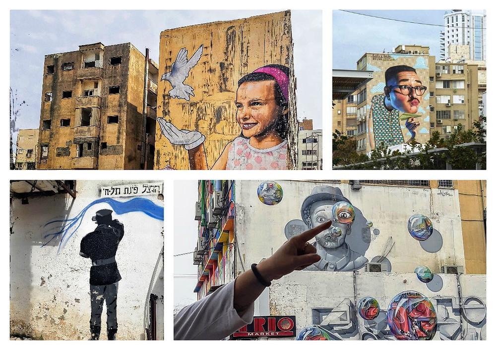 אמנות רחוב בנתניה Artist4Israel