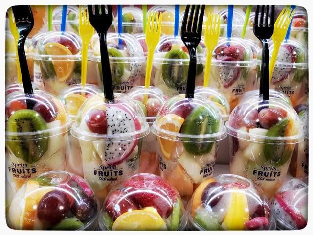 פירות בשוק בוקרייה בברצלונה