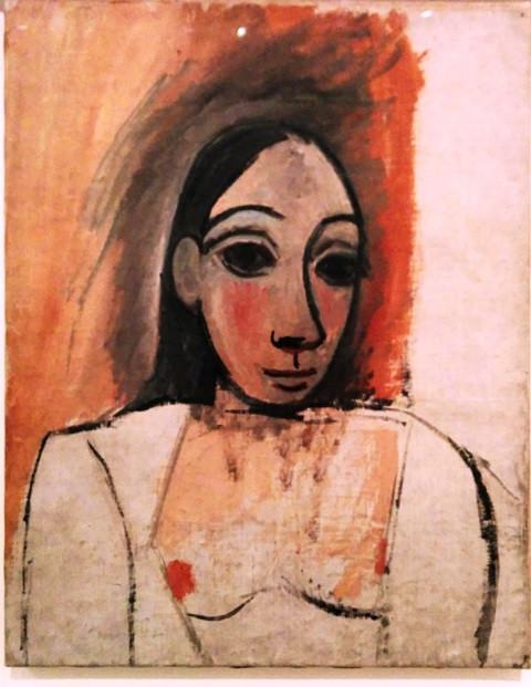 דיוקן אישה, 1907, פיקאסו