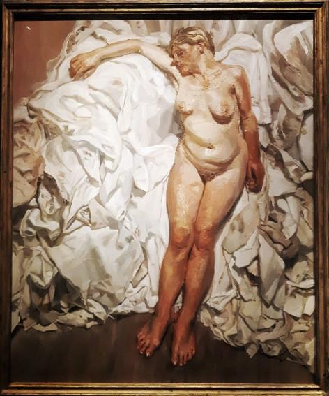 Standing by the Rags 1989, לוסיאן פרויד