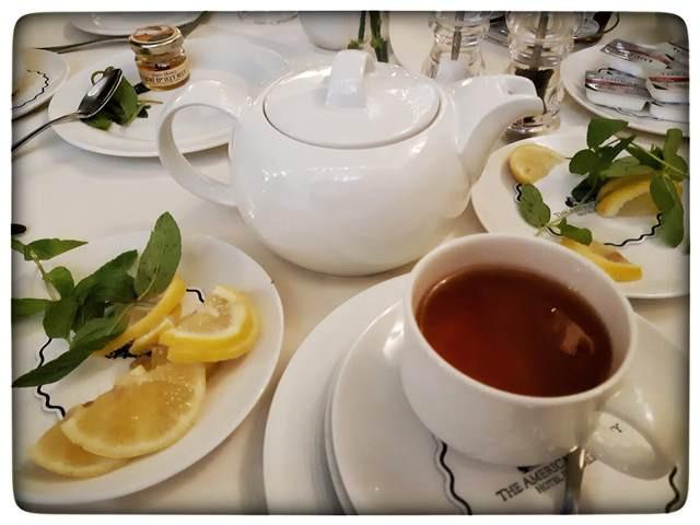 Afternoon tea American Colony Jerusalem