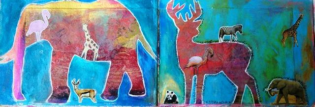 צבי ופיל