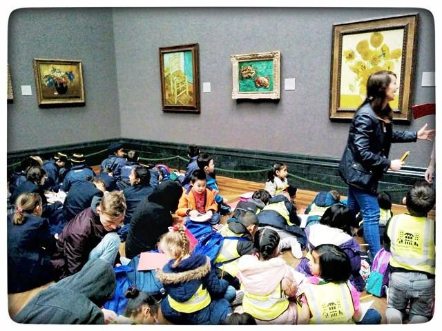 National Gallery London חינוך לאמנות ב