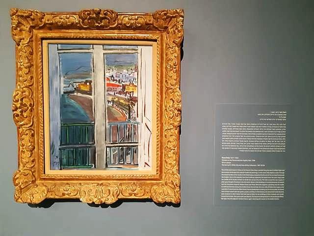 חלון משקיף אל טיילת האנגלים,ראול דופי 1938