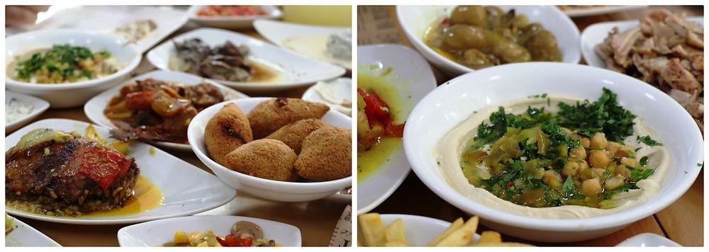 מסעדת אבו אחסאן בבאקה אל-ע'רבייה