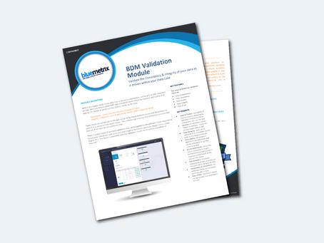 BDM Validation Datasheet