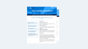 Data Lineage Traceability