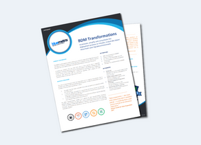 BDM Transformations Datasheet