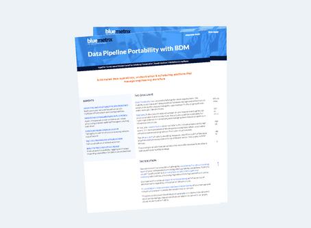 Data Pipeline Portability with BDM