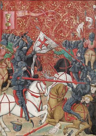 Husitské vojsko vítězí nad křižák