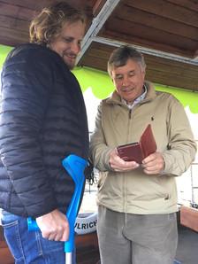 Biskup Pavel Pechanec s prof. Pierrem Allanem