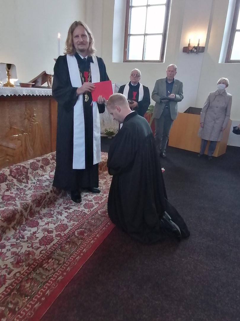 Jáhenské svěcení Aleše Tomana