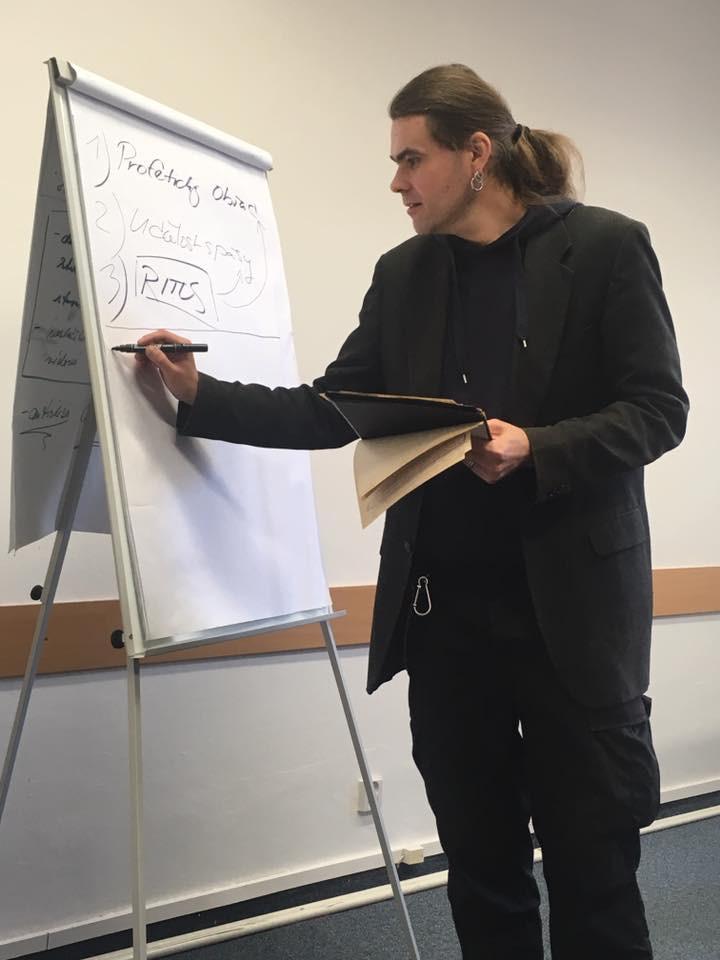 Vladimír Hraba při liturgickém semináři