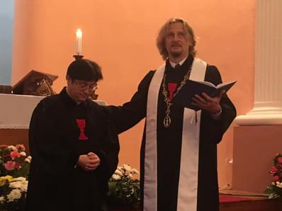 Kněžské svěcení Žanety Černochové