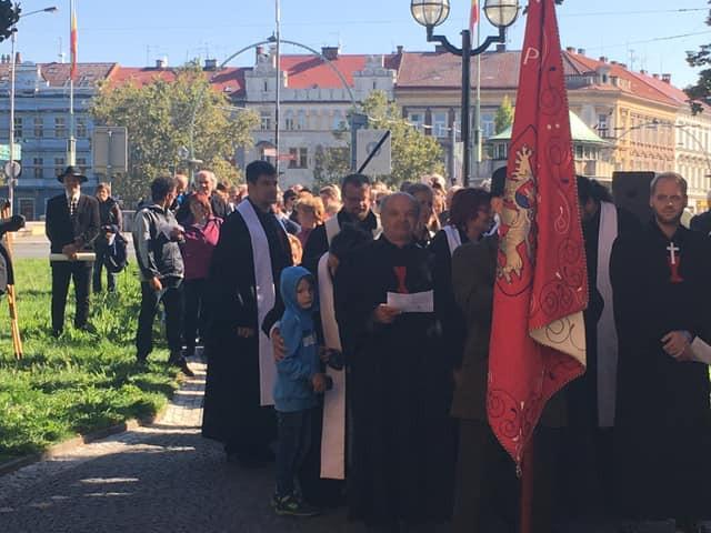 Z náměstí Svobody průvodem do Sboru kněze Ambrože