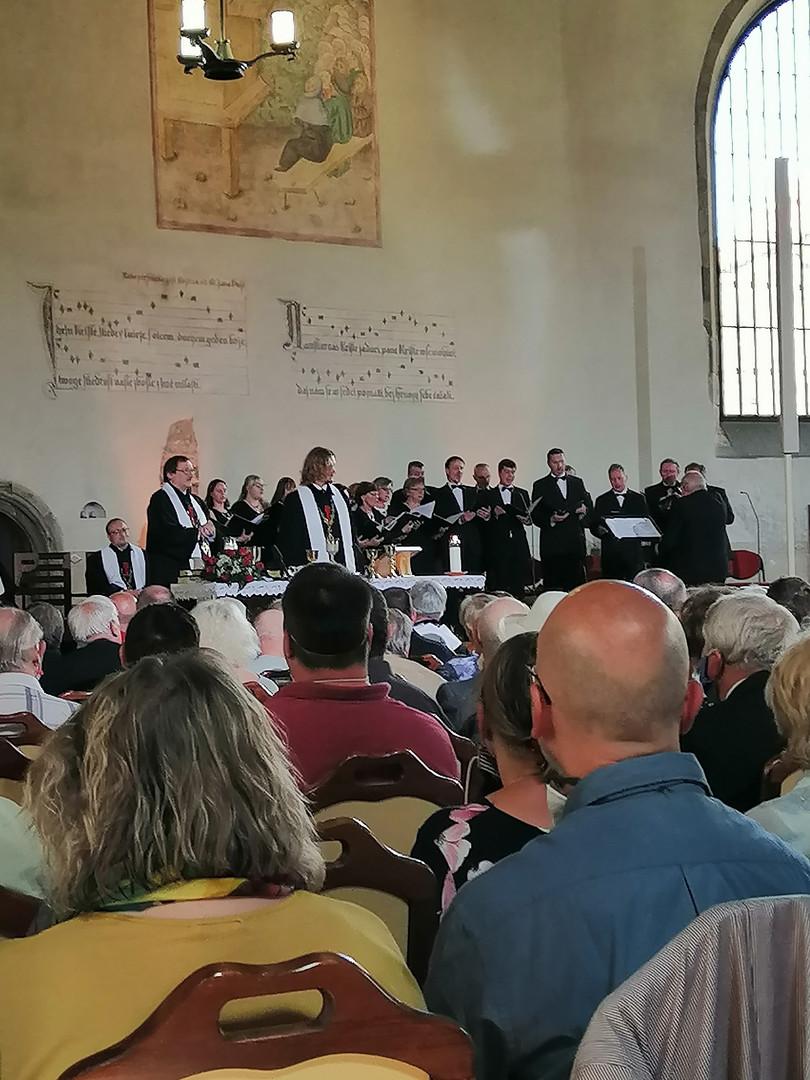 Slavnostní bohoslužba v Betlémské kapli