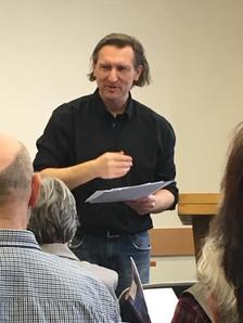 Doc. Jiří Vogel při diecézní katedře