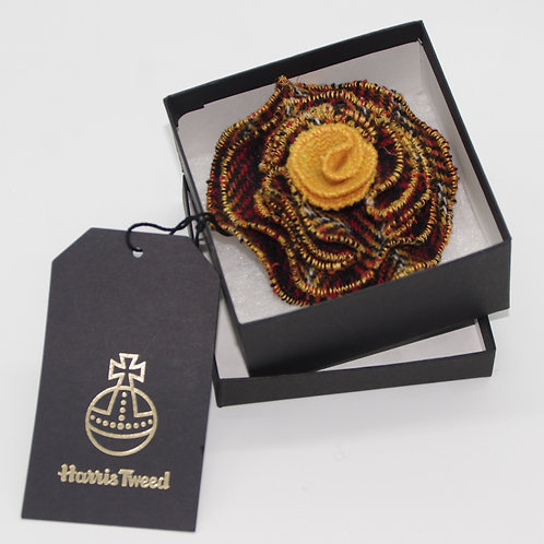 Harris Tweed Flower