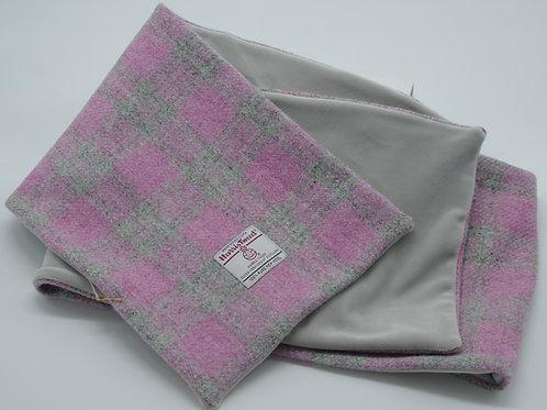 Harris Tweed Scarf/Fleece Lining