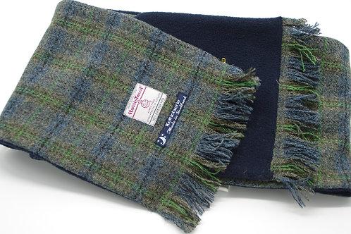 Harris Tweed Scarf/ Fleece Lining