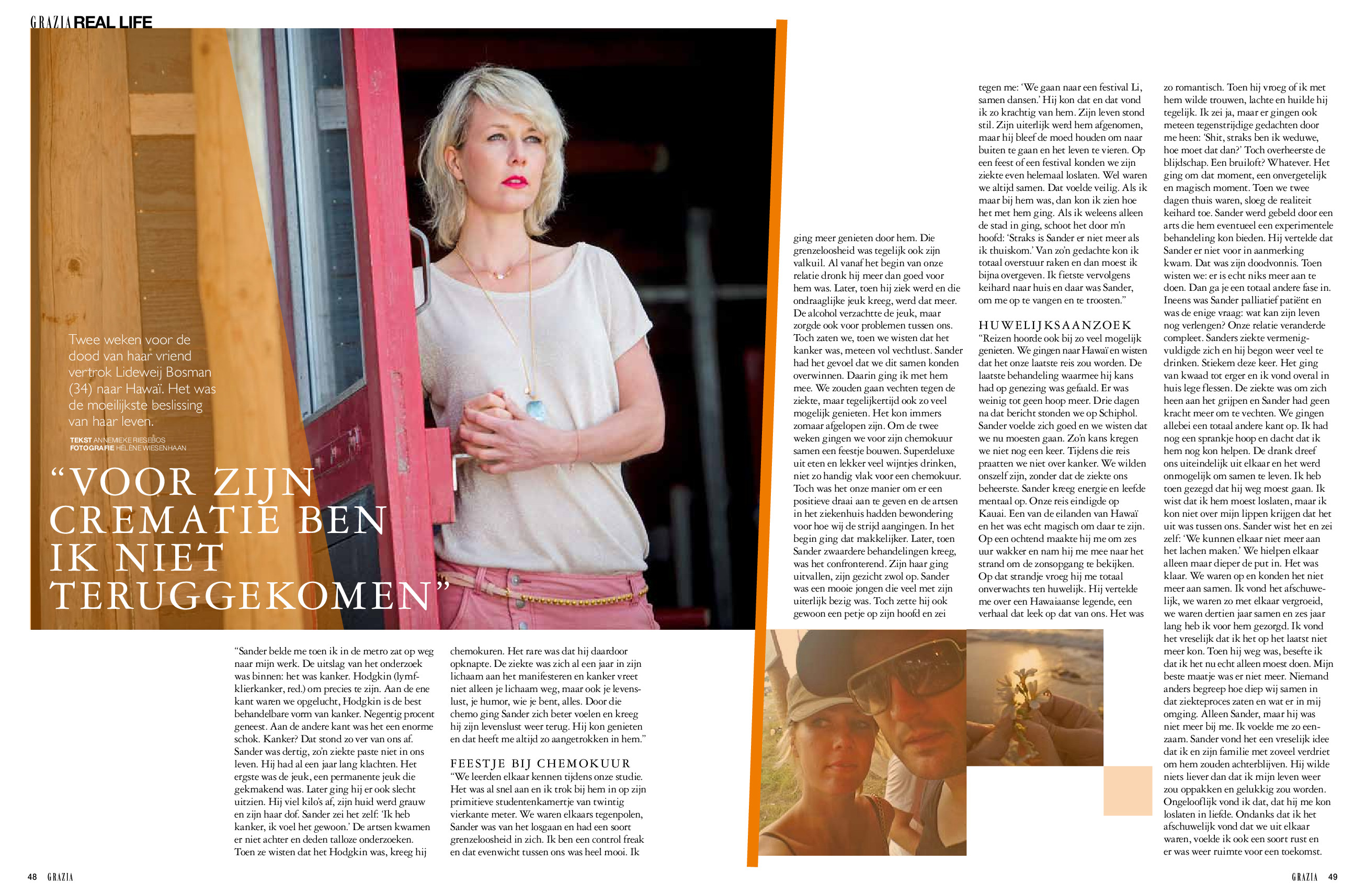 Grazia pagina 1  - 4 juni 2014
