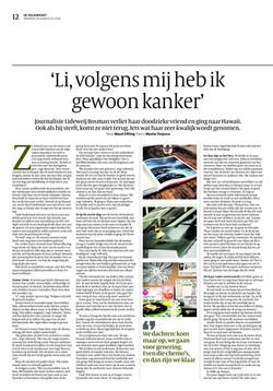 Volkskrant De Wending 26 aug 2014