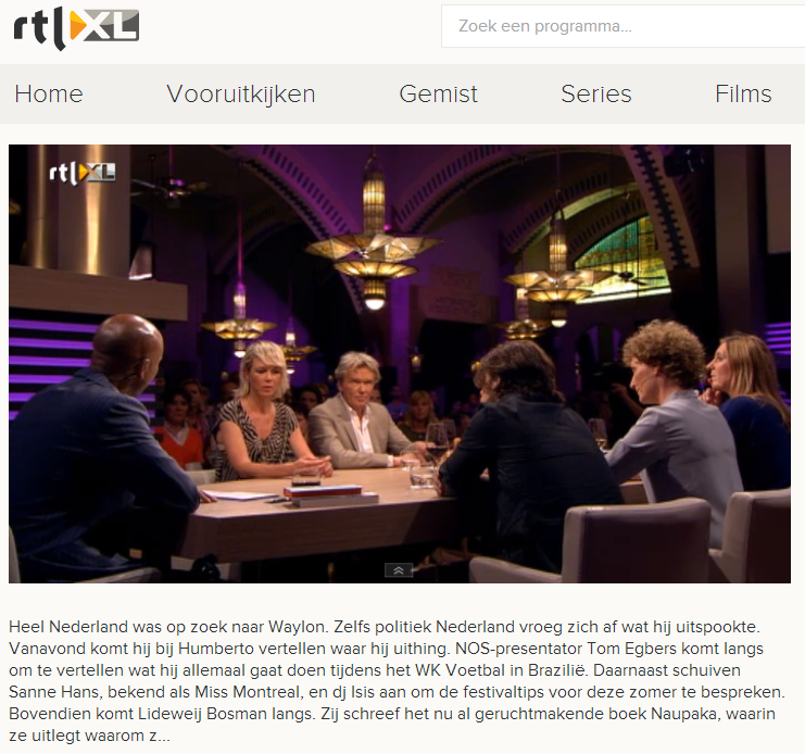 RTL LATE NIGHT 2014