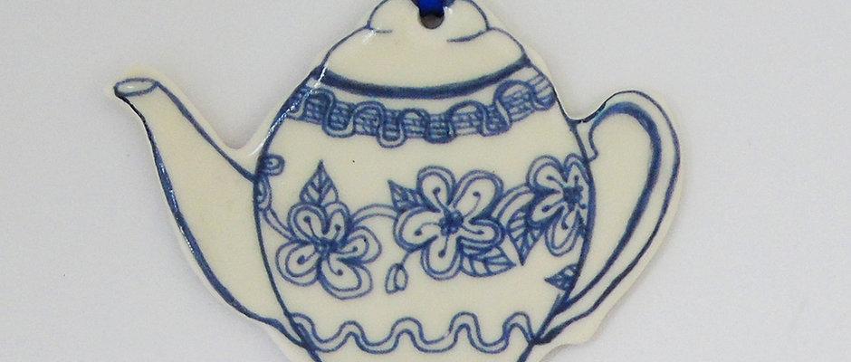Porcelain Teapot or Teacup decorations