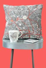 Cushion on Stool Red background.jpg