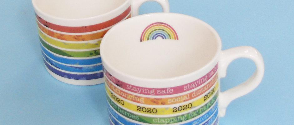 Rainbow Mug for NHS Charities Together