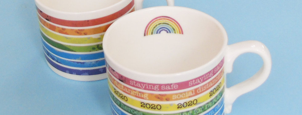Rainbow Mug for NHS Charities Together
