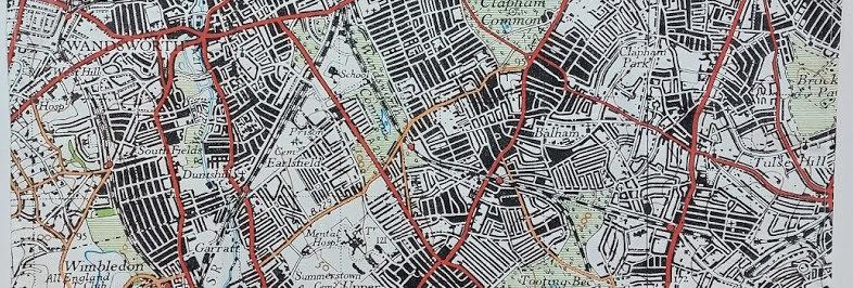 South London 1948 Tea Towel
