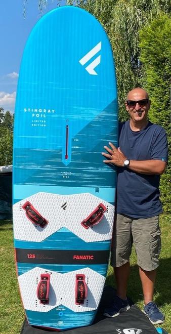 Windsurf Foilboard Fanatic Stingray 125 Ltd.