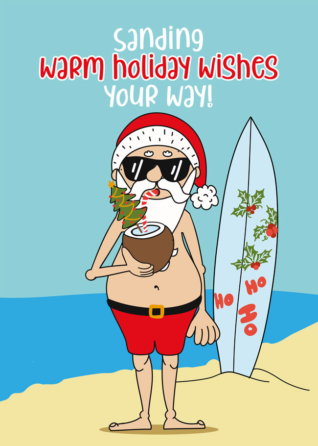 Surfurlaub an Weihnachten