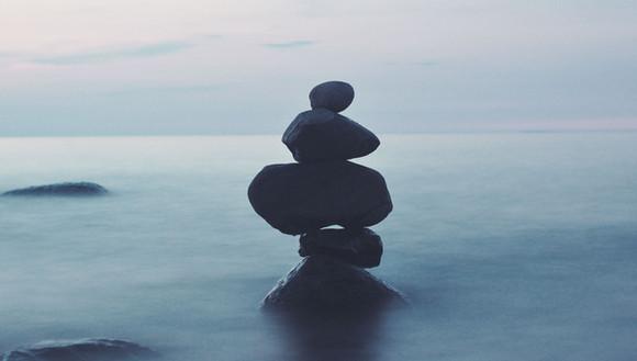 L'équilibre dans la vie..
