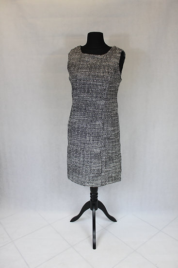 Robe droite Tweed