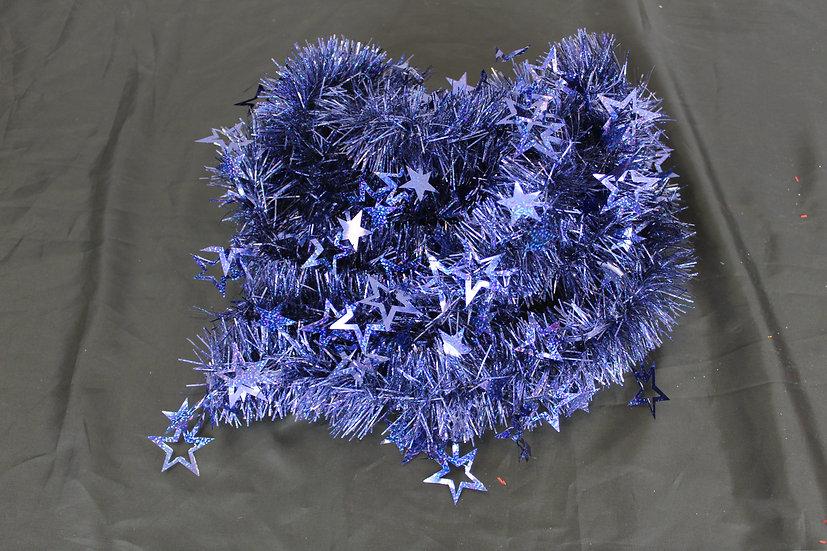 Guirlande étoile bleue 2M