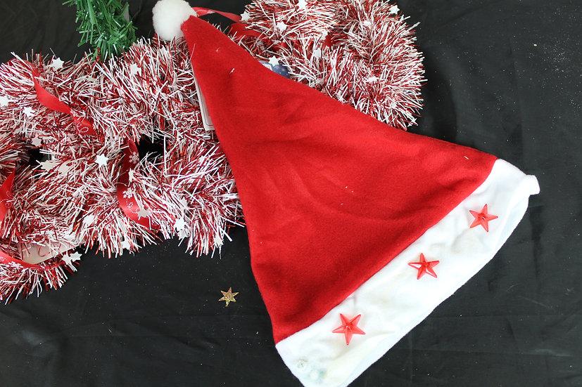 Bonnet Noël étoiles mumineuses