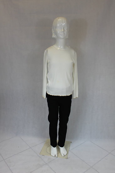 T-shirt Manche Longue Bleu ou blanc