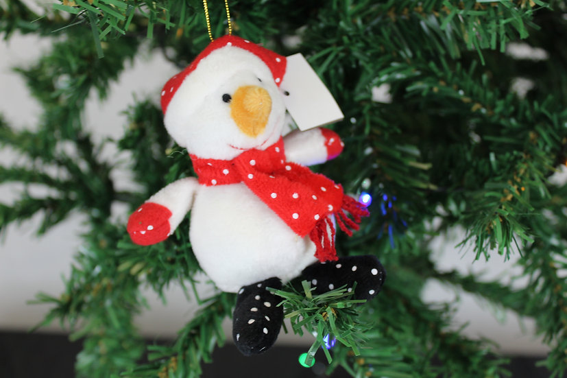 Suspension peluche assorties Noël