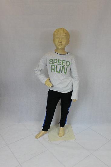 T-shirt Manche Longue Gris