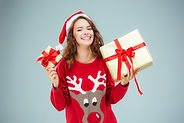 young-woman-dressed-in-santa-hat-with-ch