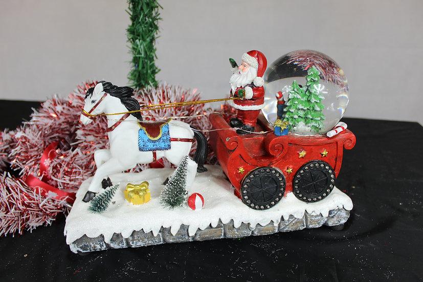 Traineau + Père Noël+ Boule à eau