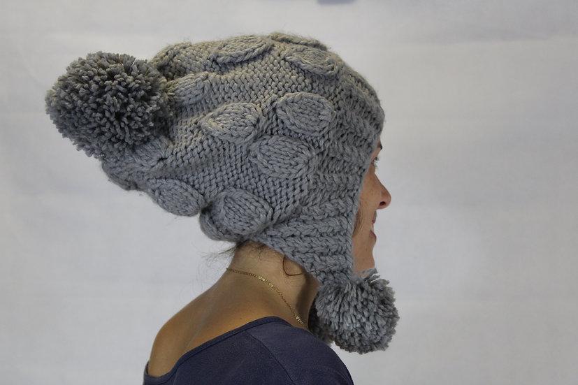 Bonnet Gris ou Noir uni