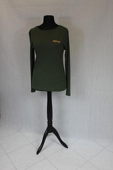 T-shirt Manche Longue Vert Kaki