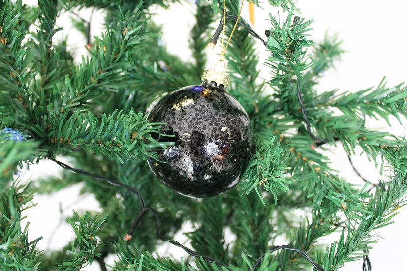 Boule Noire  8cm