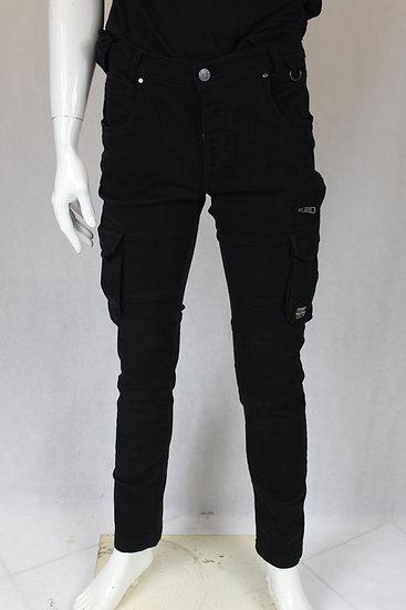 Pantalon Noir Poche