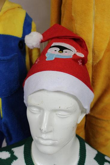 Bonnet Noël Pingouin